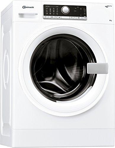Bauknecht WM Care 8418 Z Waschmaschine Frontlader/A+++ -10%/1400 UpM/177kWh/Jahr/8 kg/ZEN Technologie/Mengenautomatik/Elektronischer Vollwasserschutz/Dosieranzeige