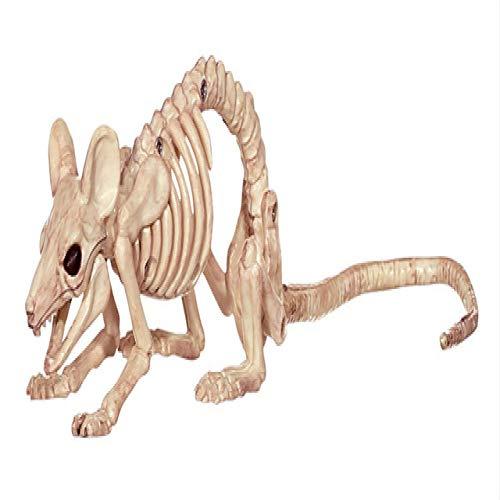 DecoracióN De Halloween Animal Esqueleto RatóN Perro Gato CráNeo Hueso Ornamento Halloween Horror DecoracióN