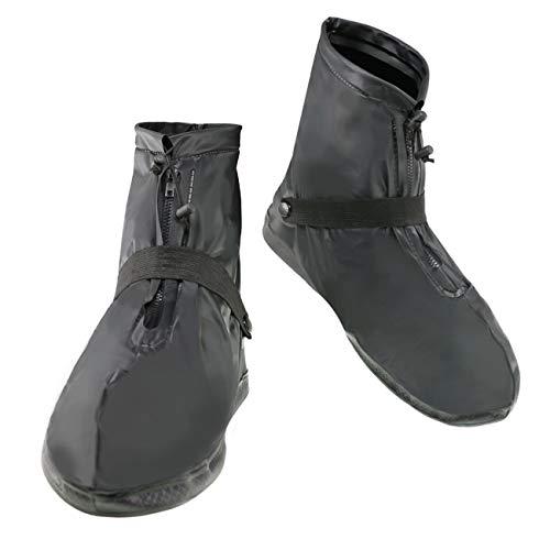 THEE Impermeable Cubrecalzado PVC Cubrezapatos de Botas de Lluvia al Aire Libre Antideslizantes Reutilizables Cubiertas de Zapatos