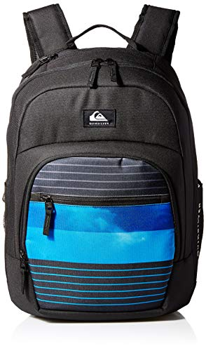 Quiksilver Men's SCHOOLIE Cooler II Backpack, Moonlight Ocean, 1SZ