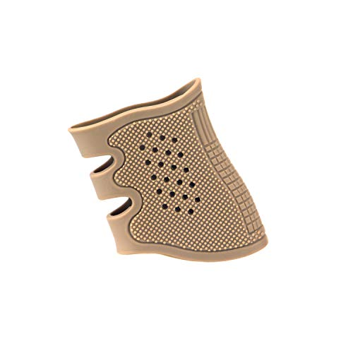 Sparwod Tactical Holster Pistol Rubber Glove Sleeve Grips Fits for 17,18,19,&Generation 4 Glock 20, 21, 22, 31, 34, 35,37 and AK, M4 (Black)