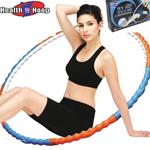 Original New Body HEALTH HOOP® 1,1kg Fitness Hula Hoop Reifen 72 Massagenoppen
