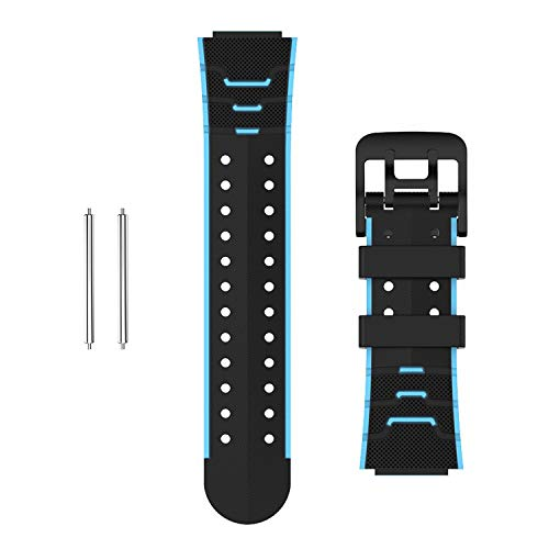 Moweallarge Correas de repuesto de reloj inteligente para niños, correa de muñeca de 16 mm de silicona para X20