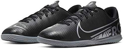 Nike Unisex-Kinder Vapor 13 Club IC Fußballschuhe, Mehrfarbig (Black/MTLC Cool Grey/Cool Grey 1), 36 EU