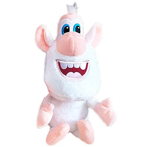 LuLezon Booba Buba White Pig Cooper Plüschfigur Spielzeug Weiche Stoffpuppe 25 cm
