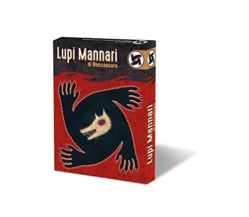 Asmodee - Lupi Mannari di Roccascura, Gioco di Carte, Edizione in Italiano, 8923