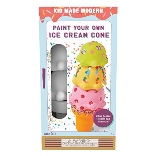 Kid Made Modern アイスクリームコーン ペイント キット