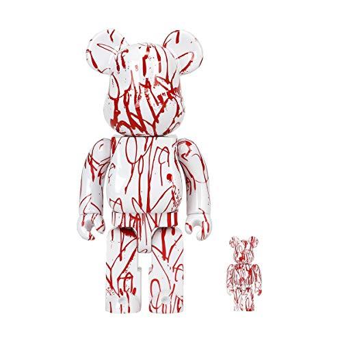 Bearbrick 400% & 100% Set - Curtis Kulig (Love Me)