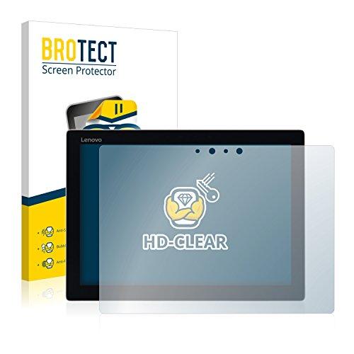 BROTECT Schutzfolie kompatibel mit Lenovo MIIX 720 (2 Stück) klare Bildschirmschutz-Folie