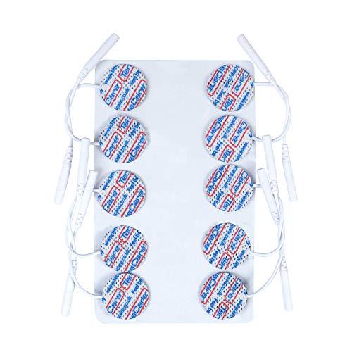 TensCare Elektroden-Set mit 30 Stück, rund, hochwertig, Durchmesser 25mm
