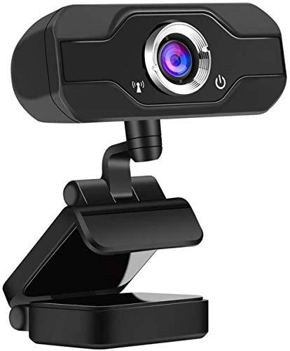 ggdwy 1080P Full HD-Webcam mit Mikrofon Stream-Webcam für Videokonferenzen Aufnahme- und Streaming-Webcam mit 90-Grad-HD-Webcam mit erweiterter Ansicht für PC