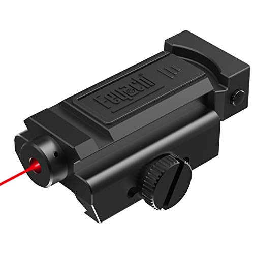 Feyachi LS-31 Laser Sight Compact Shockproof Red Dot Laser Sight with Picatinny Rail for Pistol Handgun Shotgun Rifle