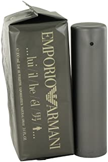 GIORGIO ARMANI Armani Emporio Eau De Toilette Spray for Men, 3.4 Ounce
