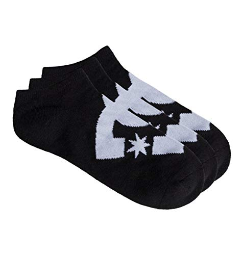 DC Shoes Herren Edyaa03151 Füßlinge, Schwarz (Black Kvj0), One Size (Herstellergröße: 1SZ)