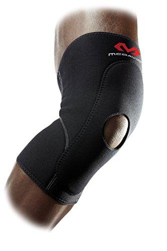 McDavid 404 Knee Brace with Open Patella (Black, Large)