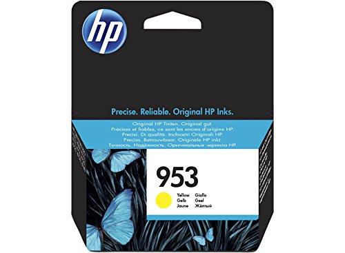 Hewlett Packard F6U14AE#BGY - Cartucho de inyección, color amarillo