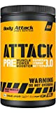 Body Attack Pre Workout Booster PRE ATTACK 3.0 I Muscle Pump...