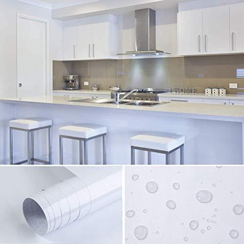 Cahomo 4 X 0.4M Aufkleber Küchenschränke PVC Klebefolie wasserfest selbstklebend DIY Dekofolie Möbel Renovierung Küchenschränke Möbelfolie Tapeten, Plotterfolie Küchenfolie Dekofolie MIT GLITZE