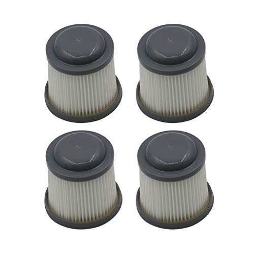 Iusun 4PC HEPA Filter Replacement Parts Kits For Stanley Black&Decker VF100 VF100H PVF110 PHV1210 PHV1810 Vacuum Cleaner Sweeping Accessories Set (gray)