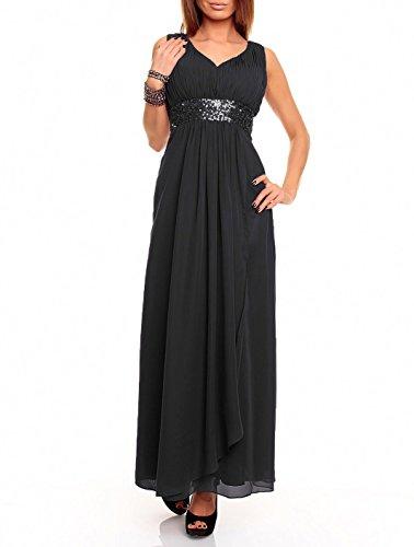 Astrapahl Damen br09111ap Kleid, schwarz), 44