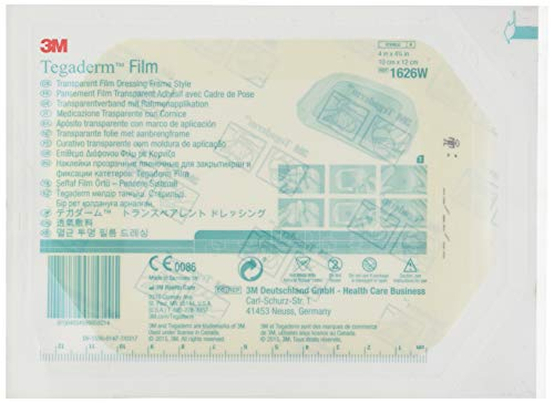3 M 34901 Tegaderm Folie transparent, 10 cm x 12 cm, Box von 50