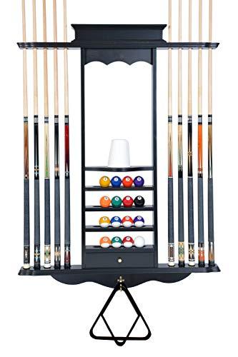 VGEBY1 Billiard Cue Racks Portable 5 Cue Holder Snooker Stick Indoor Storage Hard Glue Fixed Accessories