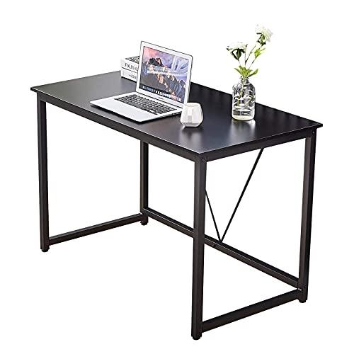 Tavolino Scrivania da scrivania da 43 pollici da tavolo da 43 pollici per home office, moderno tavolo semplice per computer portatile tavolo da gioco da tavolo con telaio in metallo Tavolo da tè