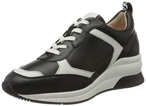 Gerry Weber Shoes Damen Affi 01 Sneaker, Mehrfarbig (Schwarz-Weiß 197), 38 EU