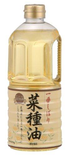 ボーソー一番しぼり菜種油 910g