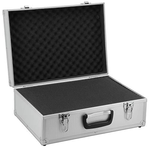 Aluminium-Koffer (LxBxH) 45 x 32 x 17,5 cm Alukoffer Koffer Farbe Silber/Alu Werkzeug Kasten Box