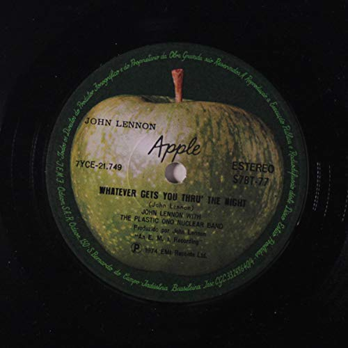John Lennon Whatever Gets You Thru The Night / Beef Jerky 45 rpm single