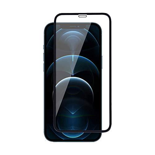 DD SON (Black) Premium Full Edge to Edge Screen Coverage Tempered Glass Screen Protector for iPhone 12 Pro Max (6.7) (2020)