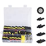 Wire connectors 26pcs/Box Electrical Wire Connector 1/2/3/4 Pins IP68 Fit for Waterproof Car Wire Cable Plug Connectors 12A Crimp Terminal Car Fuse Kits