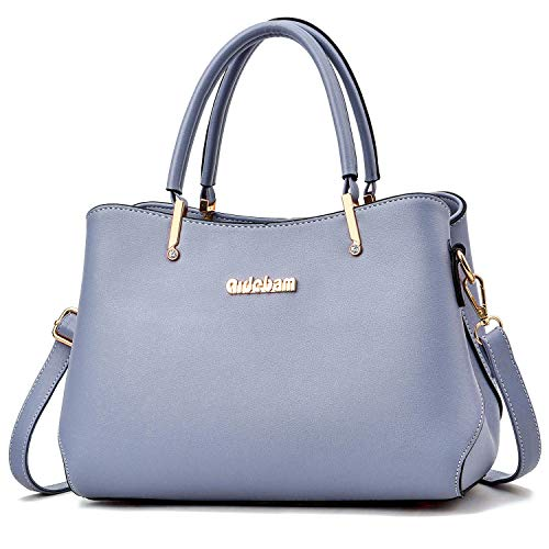Purses and Handbags for Women PU Leather Top Handle Satchel Ladies Shoulder Tote Bags Size: M