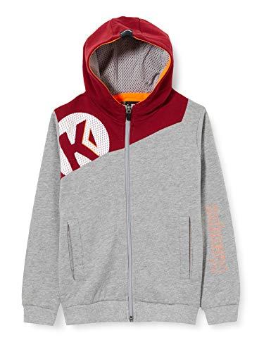 Kempa Core 2.0 Hood Jacket Veste de Handball pour Homme XS Muticolore (Gris Oscuro mezcla/Rojo o)