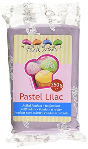 FunCakes - Rolfondant Pasta di Zucchero, Lilla Pastello, 250 g