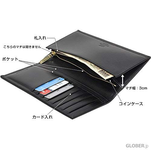 ホワイトハウスコックス(WhitehouseCox)S9697L長財布ブラック【正規販売店】