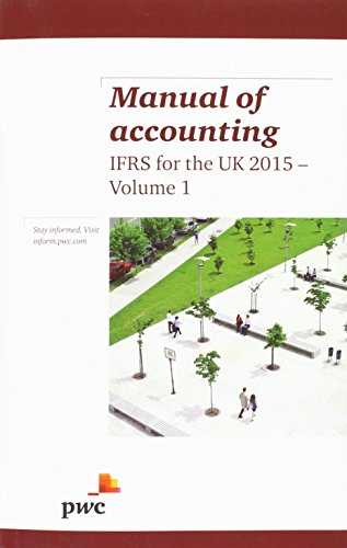 Manual of Accounting IFRS for the UK 2015