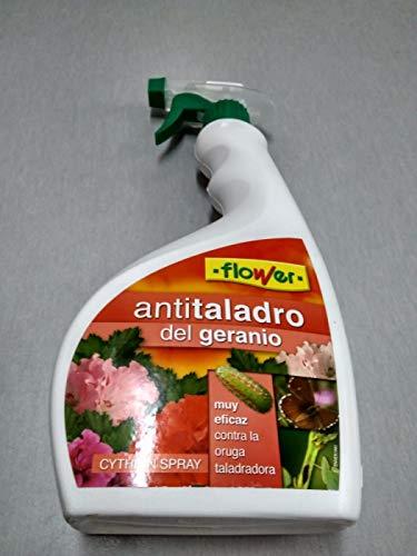 Insecticida contra oruga taladradora de Flower