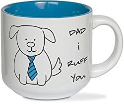 He'll remember who really loves him every time he sips from this father's day gifts for dog dads.