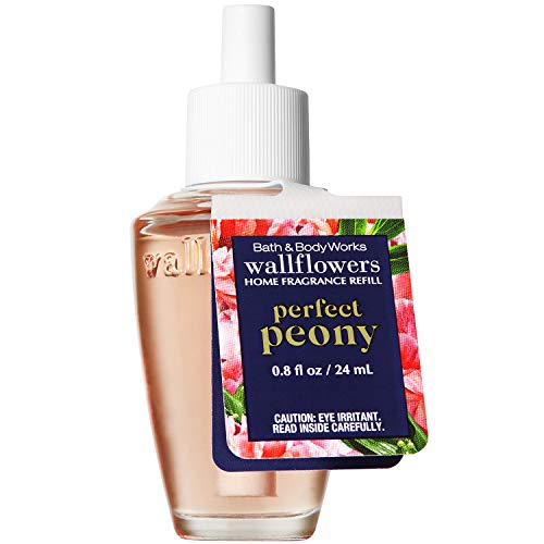 Bath and Body Works PERFECT PEONY Wallflowers Fragrance Refill 0.8 Fluid Ounce