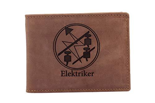 FFelsenfest Geldbörse mit Elektriker Zunft-Wappen