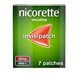 Nicorette Step 1 25mg Invisi Patch (Pack of 7)