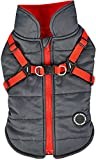 Puppia Mountaineer II Winter Vest, Grey, Large