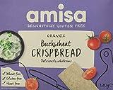 Amisa Buckwheat Wholegrain Organic Crispbread (Pack of 6)