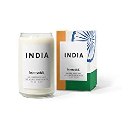 Packaging may vary from image shown Simmering curry and the scent of cardamom. Faint notes of wet soil after a summer monsoon. Agarbathi burning surrounded by vibrant colors. Top Notes: Cumin, Nutmeg, Tea Tree Mid Notes: Curry, Cinnamon, Cardamom Bas...