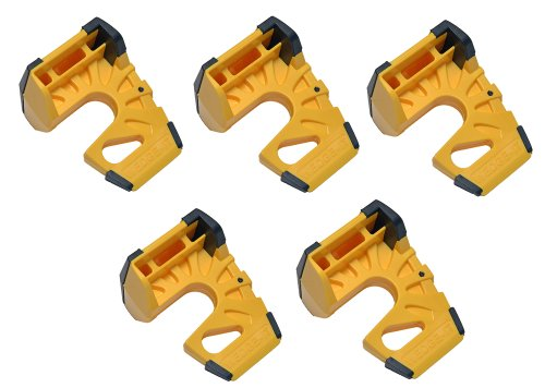 Preisvergleich Produktbild wedge-it Der ultimative Türstopper Gelb (5 Stück)