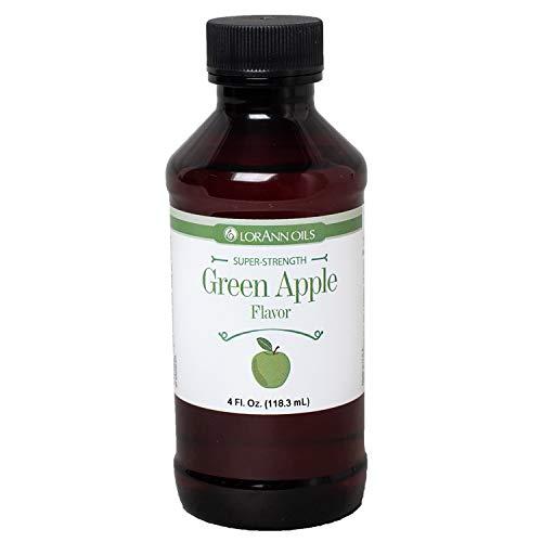 LorAnn Green Apple SS Flavor, 4 ounce bottle