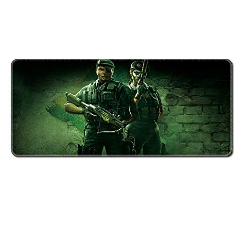 Extended Mouse Mat,Gaming Mouse Pad XXL (900 x 400 x 3mm) with Waterproof Anti-Slip Mat Thicken Rubber Stitching Edge, for PC Computer and Laptop-11