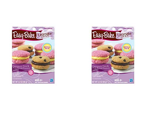 Easy-Bake Ultimate Oven - Chocolate Chip & Pink Sugar Cookies Mixes (2 Pack)
